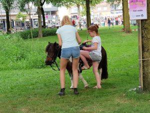Pony rijden wat een gezelligheid….of toch niet voor het dier