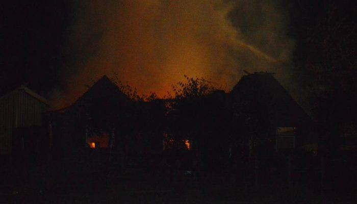 Geiten omgekomen bij stalbrand in Zutphen + ( Update)